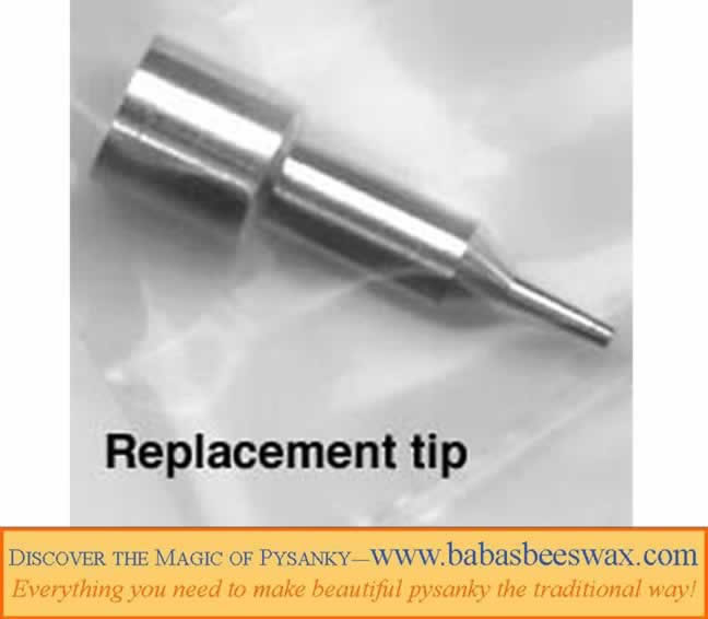 Replacemenet tips for electric kistka from babasbeeswax.com