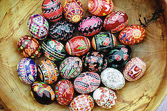 Traditional Easter Pysanky by Joan Brander